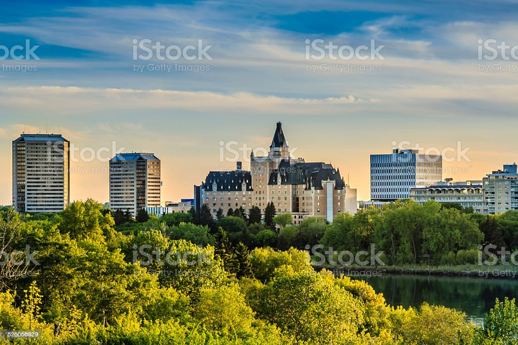 Saskatoon Landmark stock photo