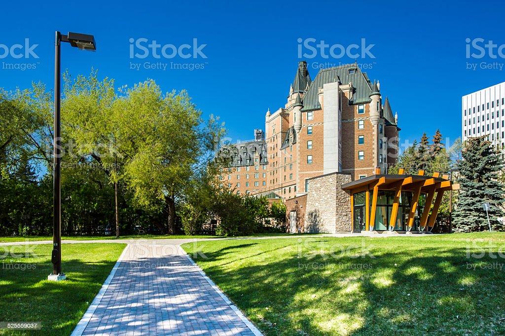 Saskatoon Landmark stock photo