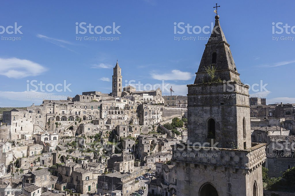 Sassi di Matera, Italy royalty-free stock photo