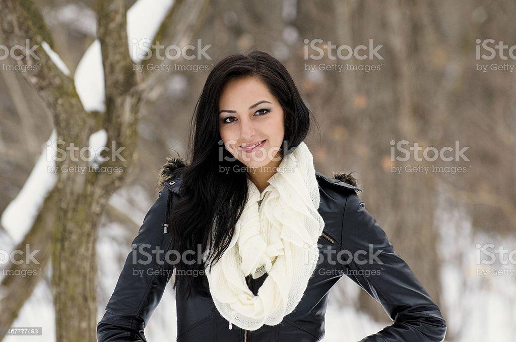 Sassy Smile royalty-free stock photo
