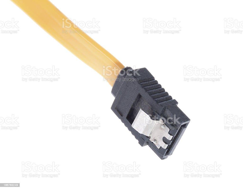 Sata cable royalty-free stock photo