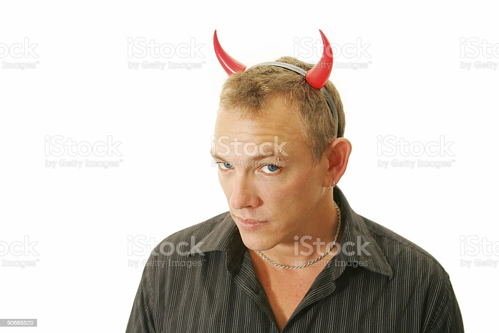 Satan's Back stock photo