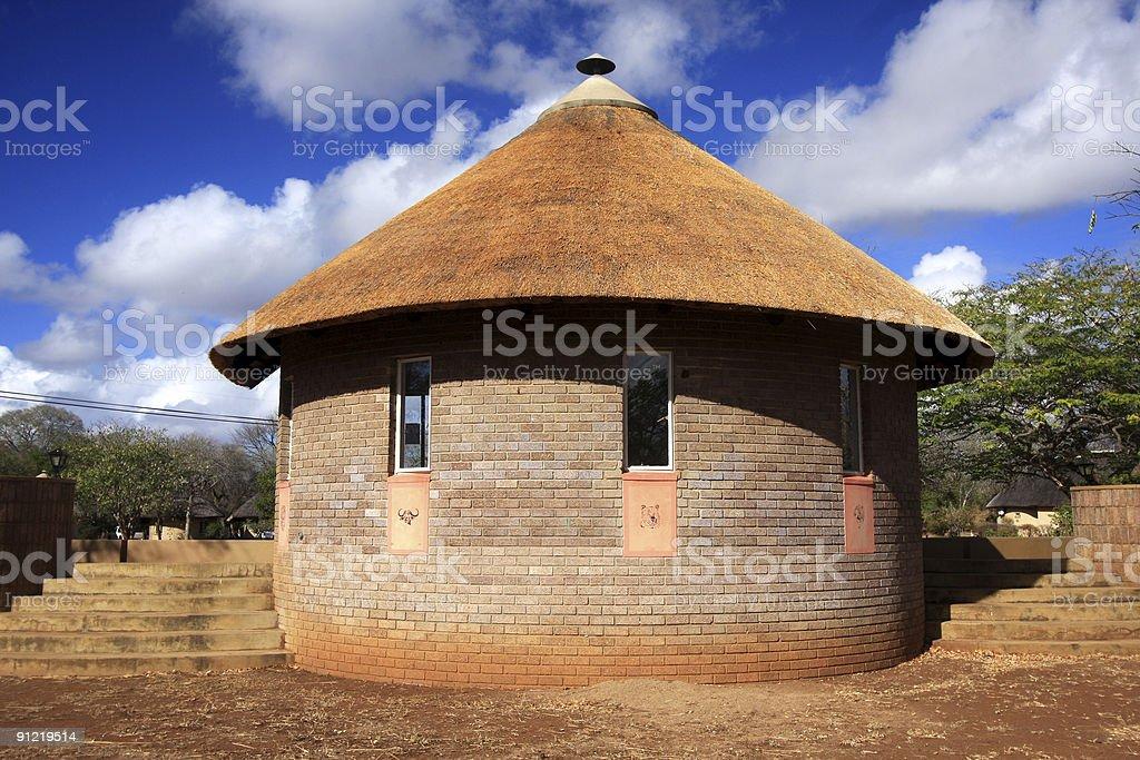 Satara in Kruger Park, South Africa stock photo