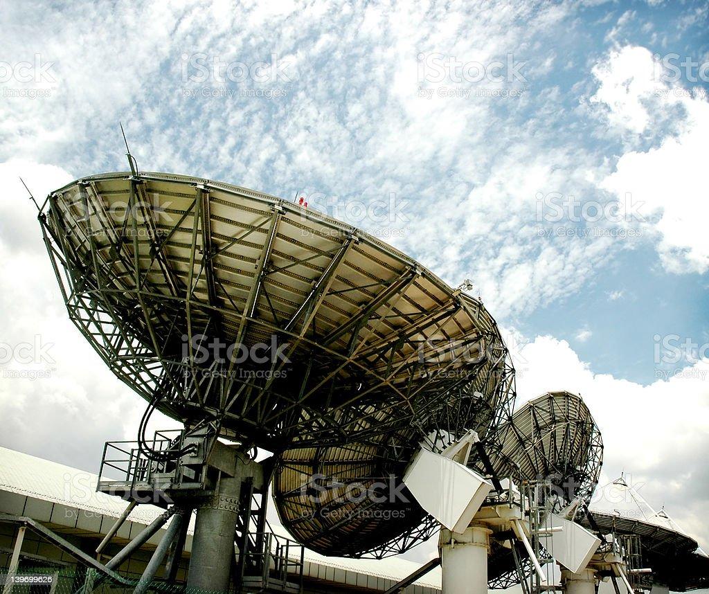 Satelites royalty-free stock photo