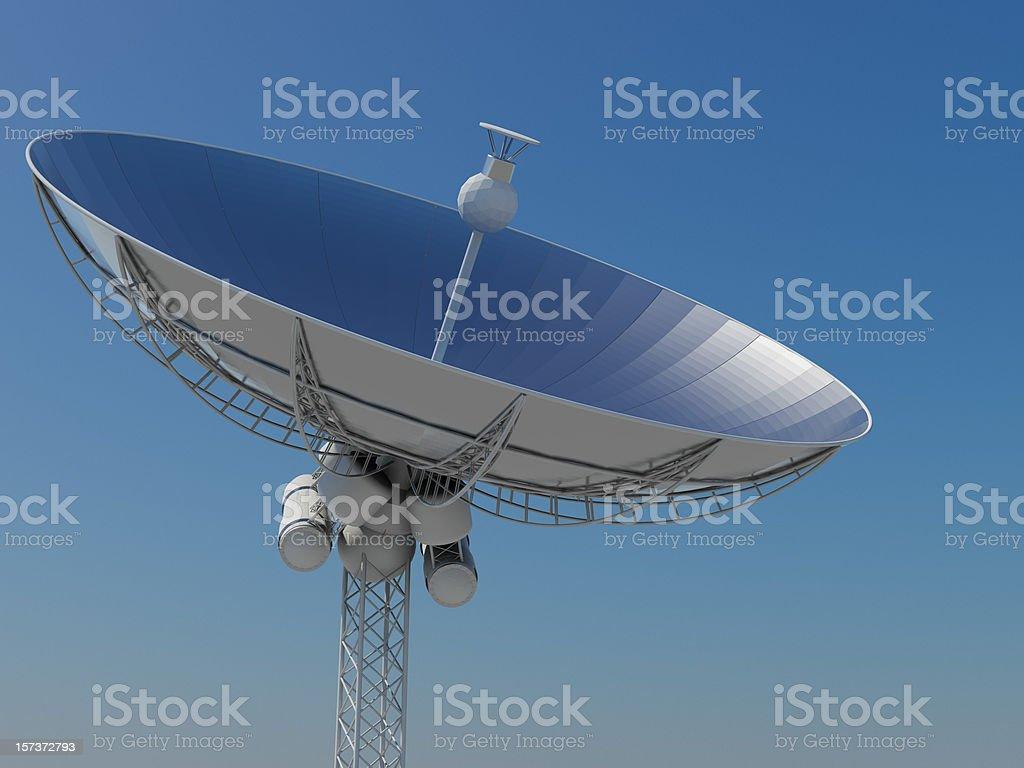 Satelliet Dish royalty-free stock photo