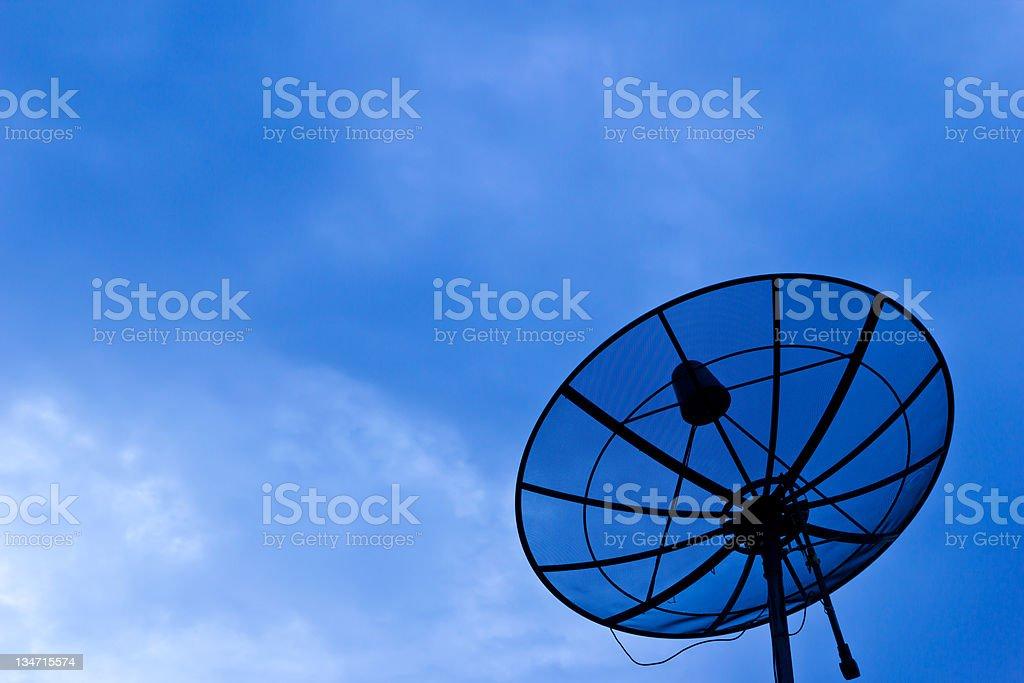 antenna satellitare foto stock royalty-free