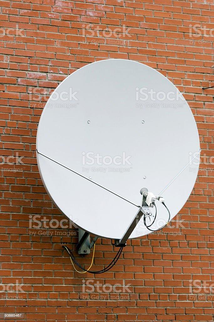 Satellite antenna. royalty-free stock photo