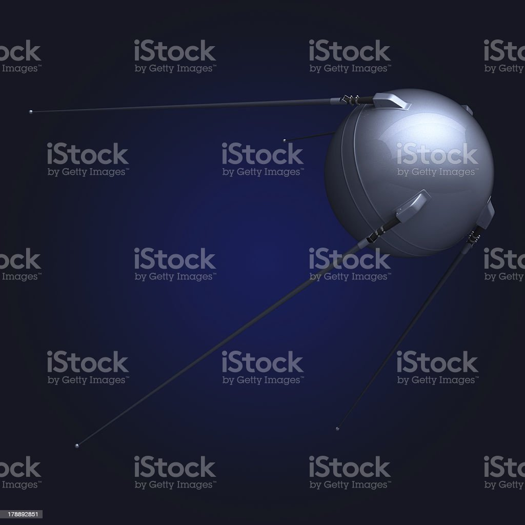 satellite black fon stock photo