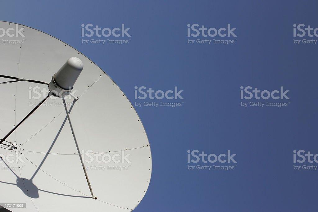 Satellite Communication royalty-free stock photo