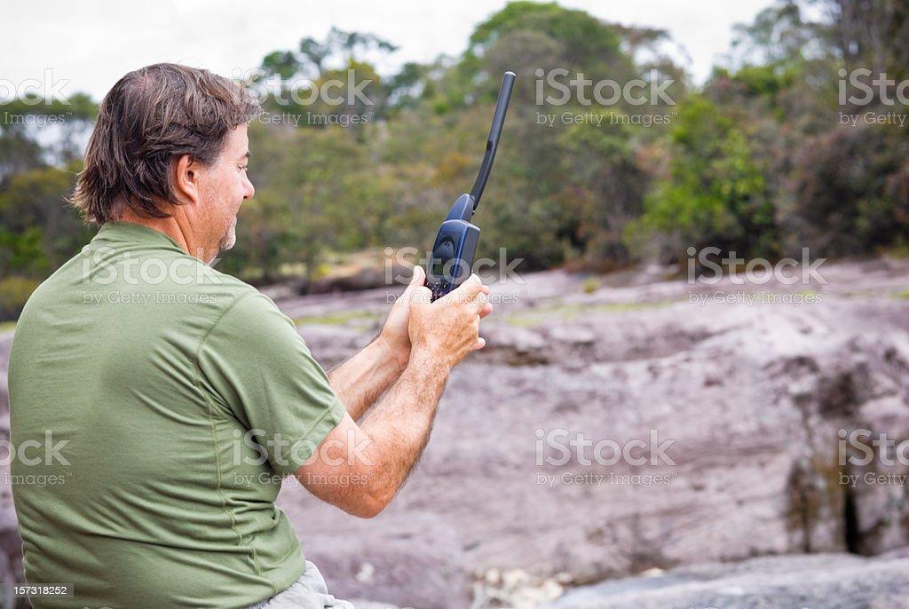 Satellite Comunications stock photo