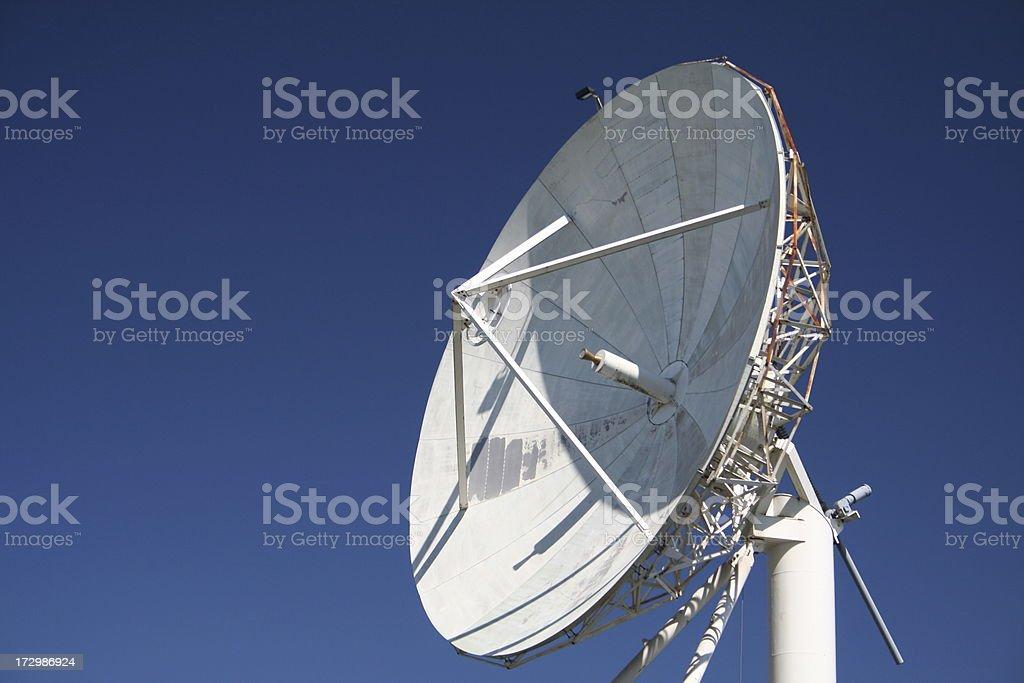 satellite dish 2 royalty-free stock photo