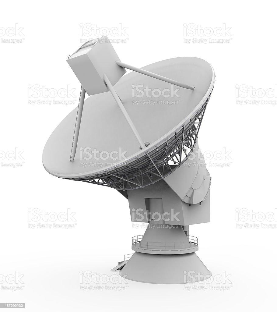 Satellite Dish Antenna royalty-free stock photo