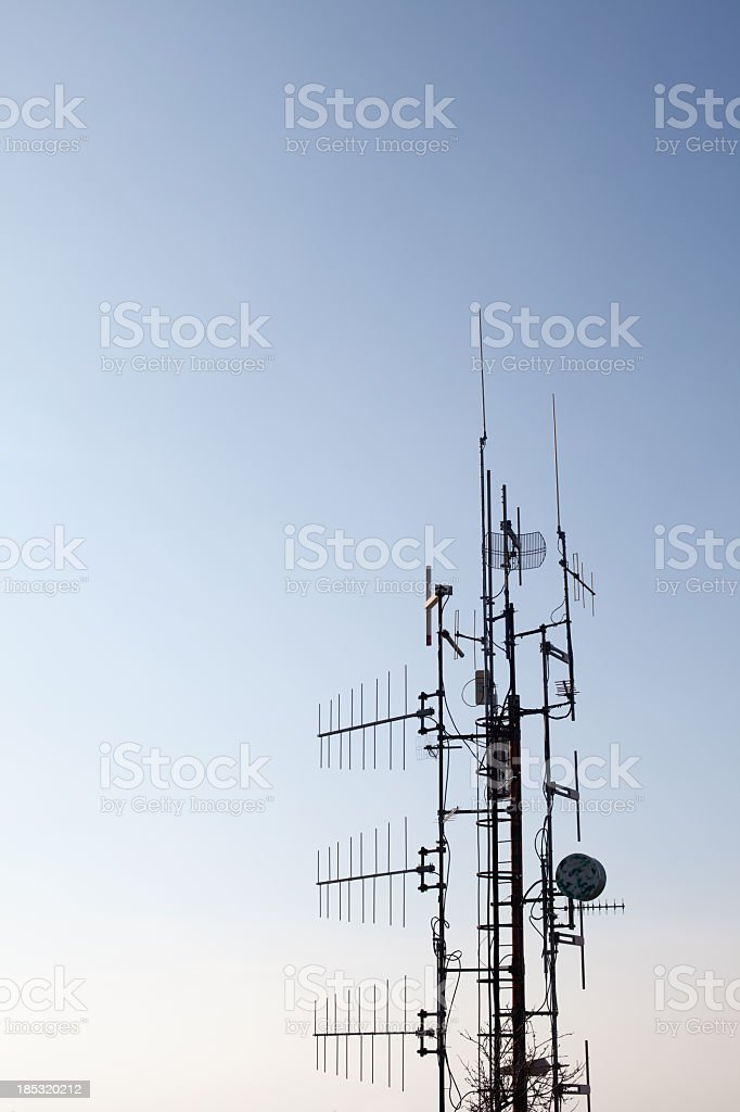 Satellite dish for Telecommunication royalty-free stock photo