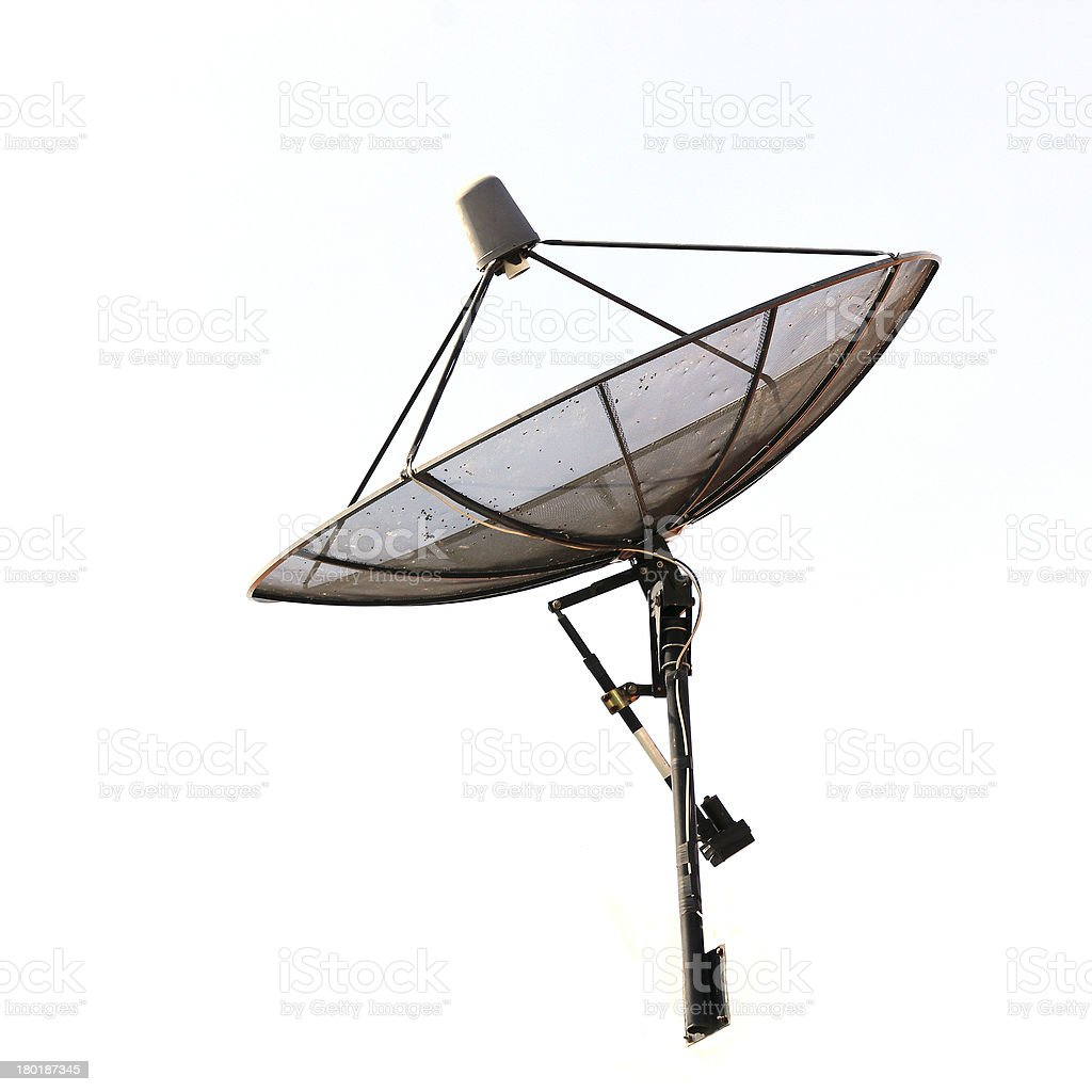 Satellite dish royalty-free stock photo