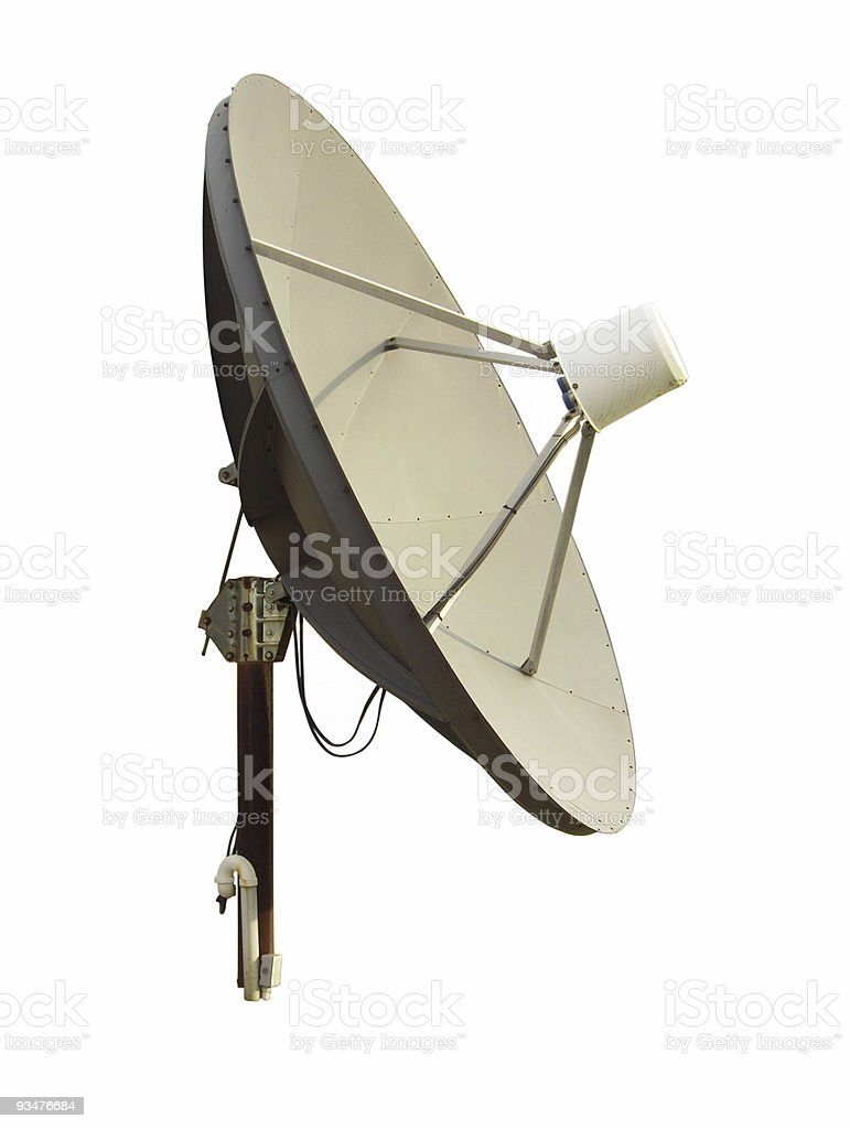 TV Satellite Dish royalty-free stock photo