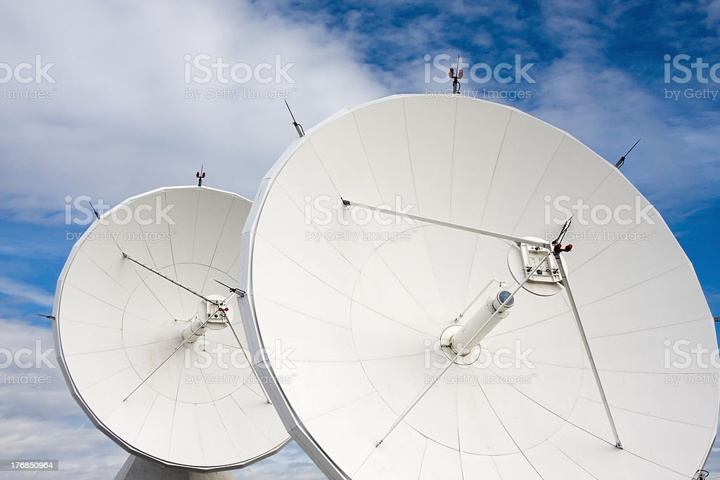 Satellite Dishes at National Radio Astronomy Observatory royalty-free stock photo