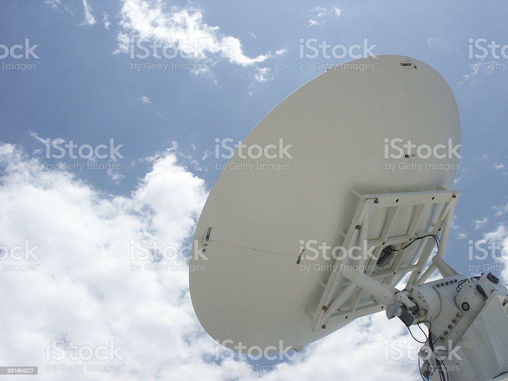 Satellite IV royalty-free stock photo