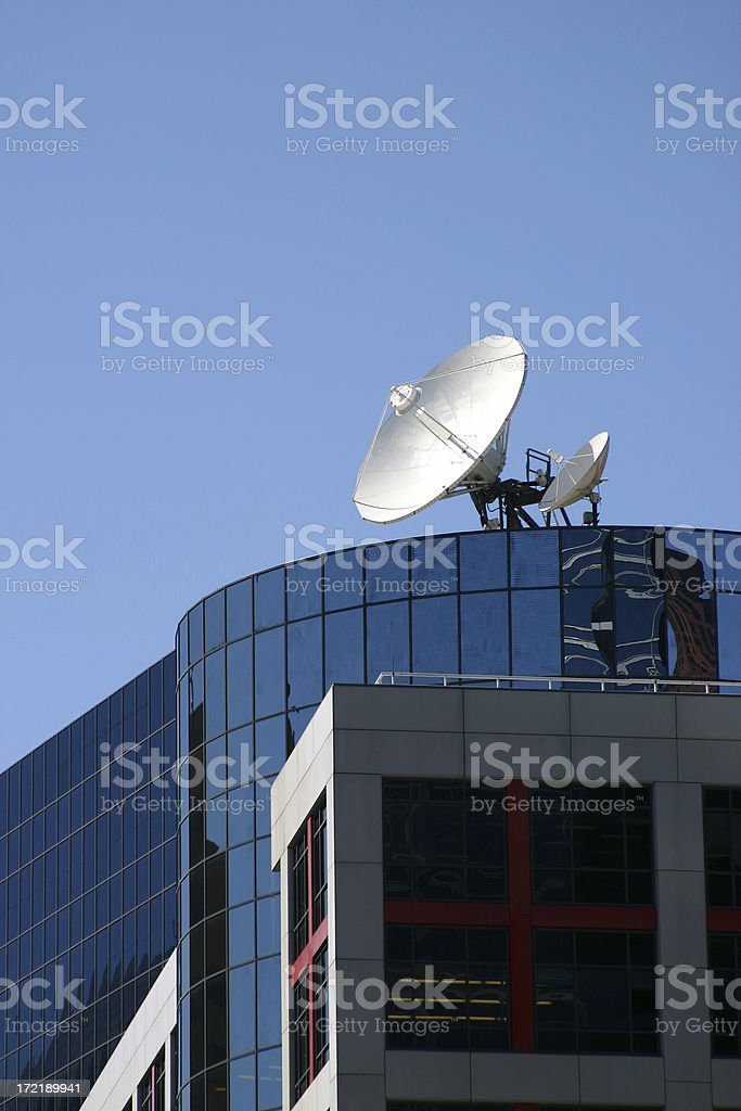 Satellite on Top royalty-free stock photo