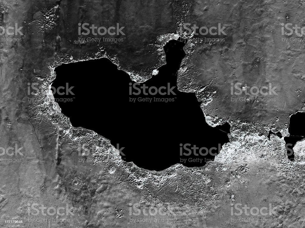 Satellite photo royalty-free stock photo