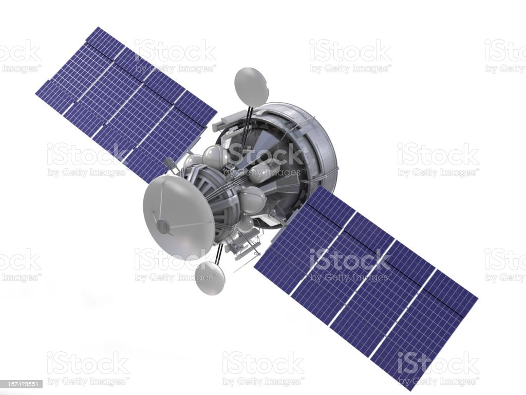 satellite royalty-free stock vector art
