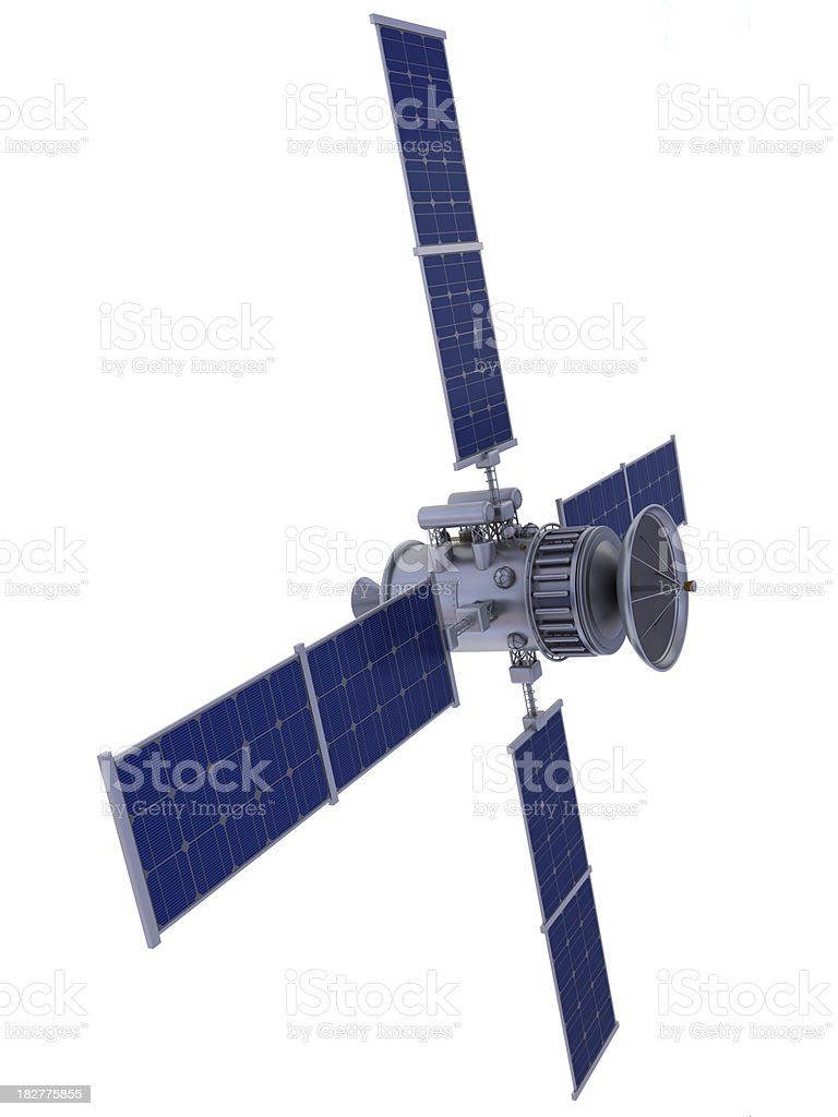 Satellite royalty-free stock photo