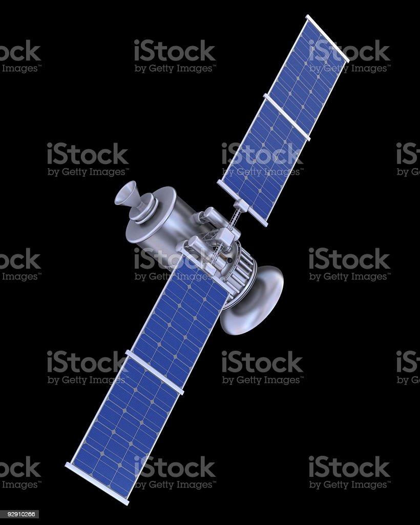 Satellite royalty-free stock photo