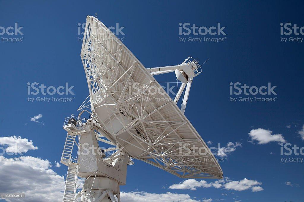 Satellite Telescope stock photo