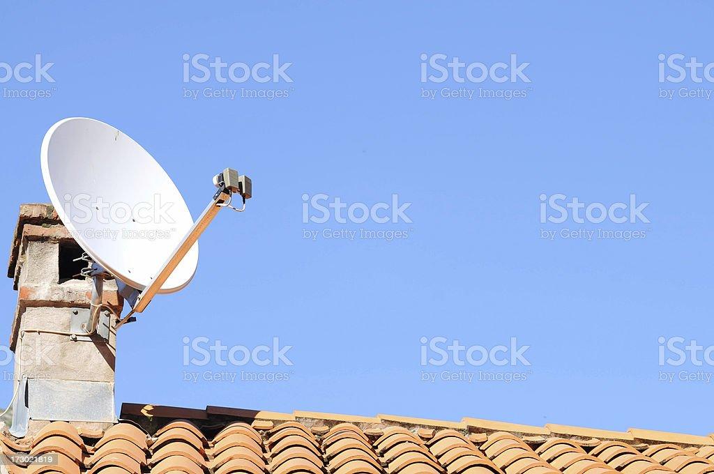 satellite tv receiver royalty-free stock photo