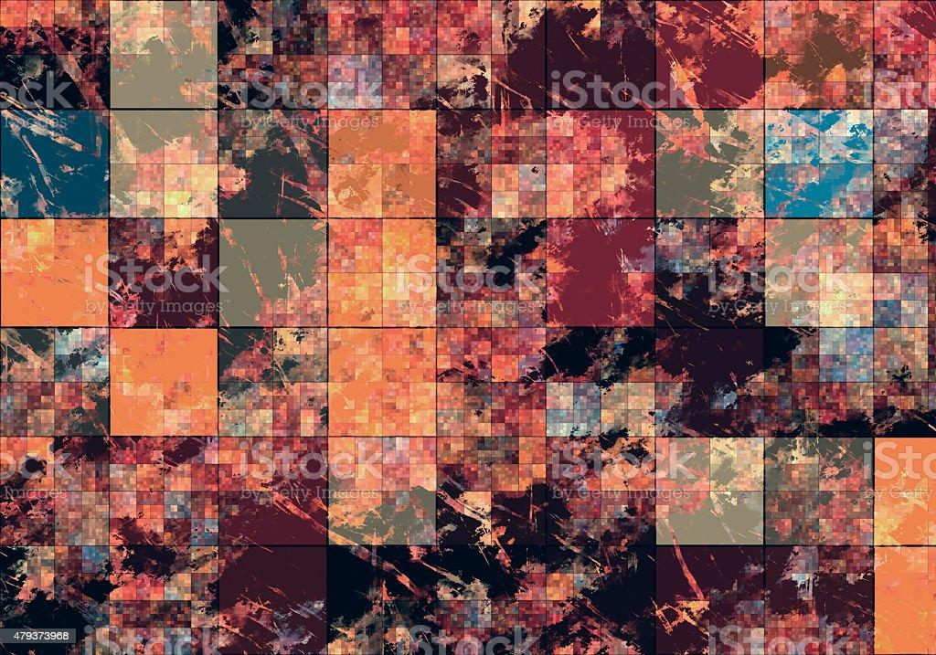 Satellite VIew stock photo