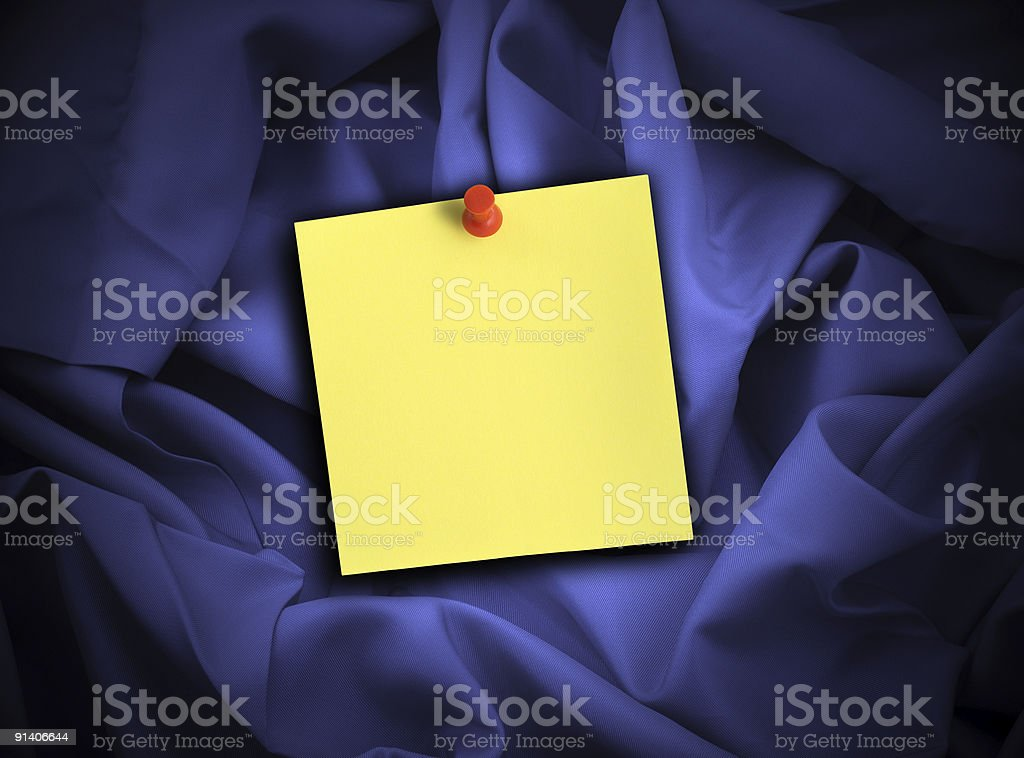satin and note stock photo