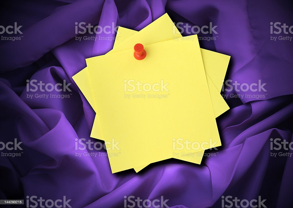 satin and notes stock photo