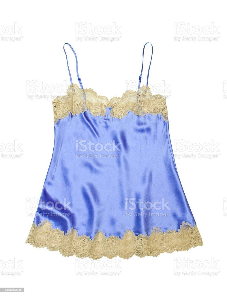 Satin camisole royalty-free stock photo