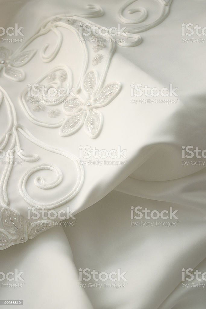 satin train royalty-free stock photo