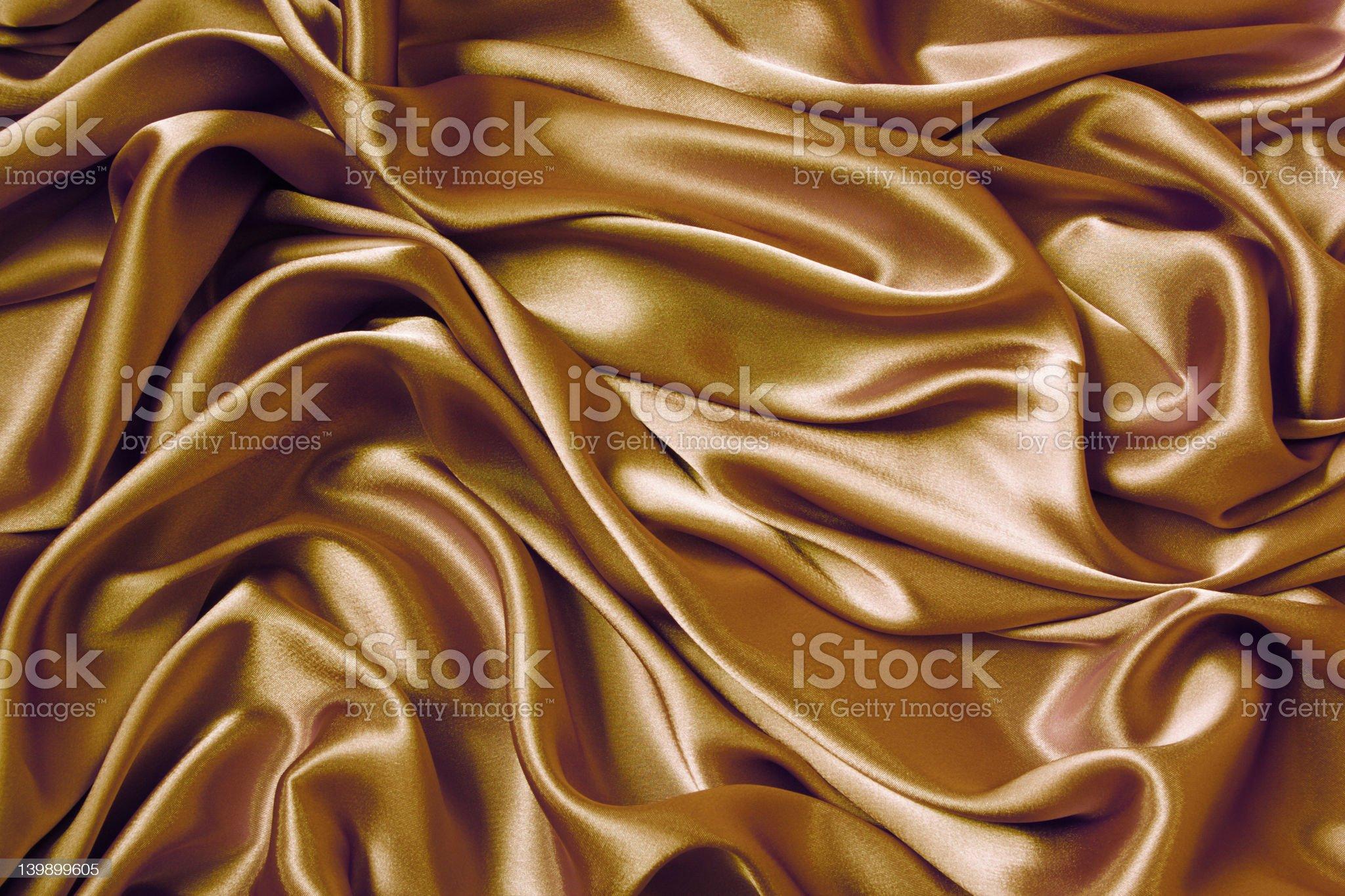 Satin Wave royalty-free stock photo