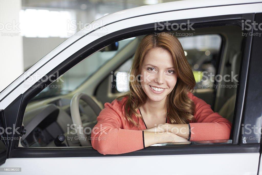 Satisfied customer royalty-free stock photo