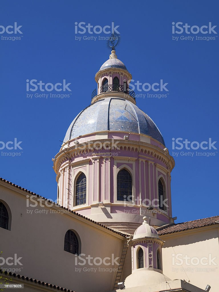 Satla in Argentina - Cathedral royalty-free stock photo