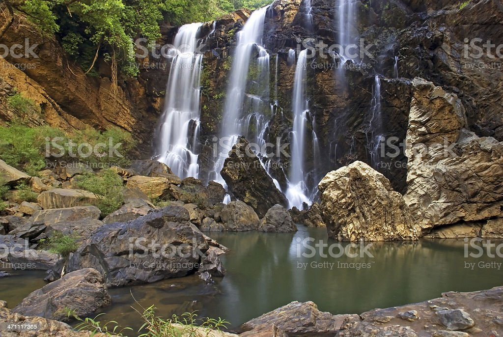 Satoddi Waterfall stock photo
