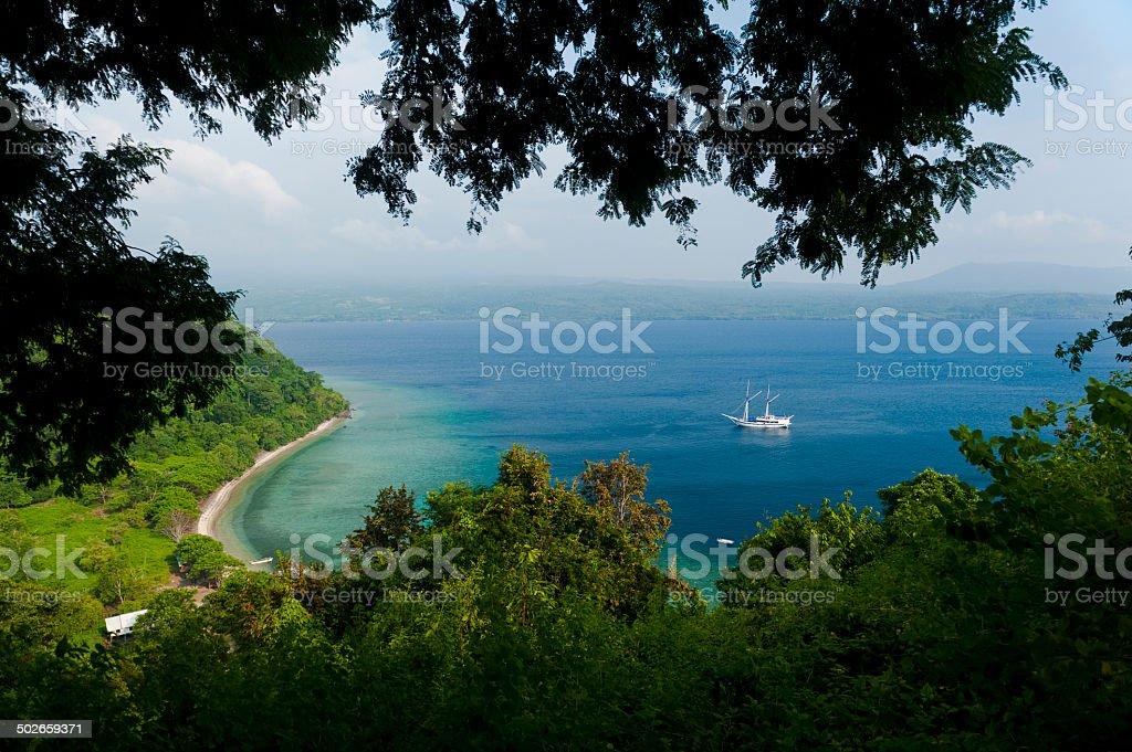 Satonda Island stock photo