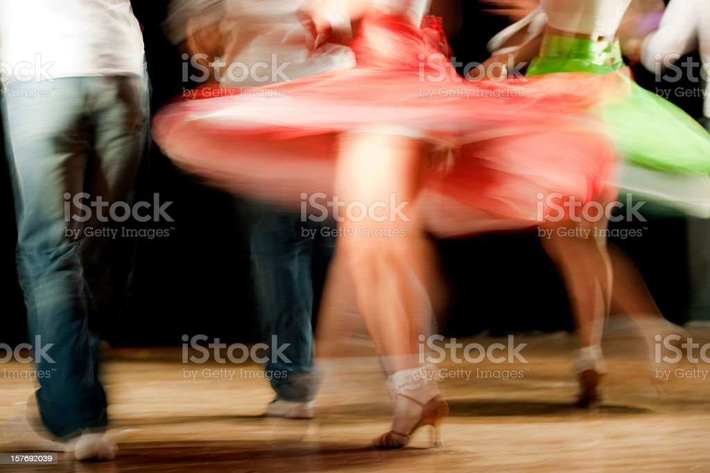 saturday night fever stock photo