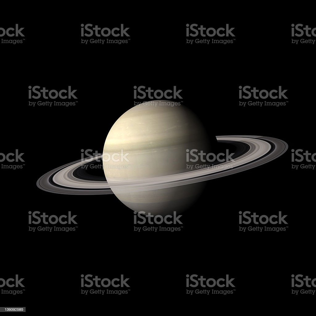 Saturn First Project stock photo