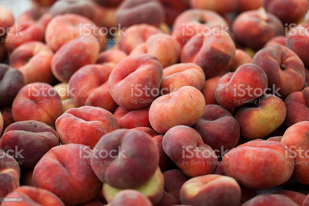 Saturn peach stock photo