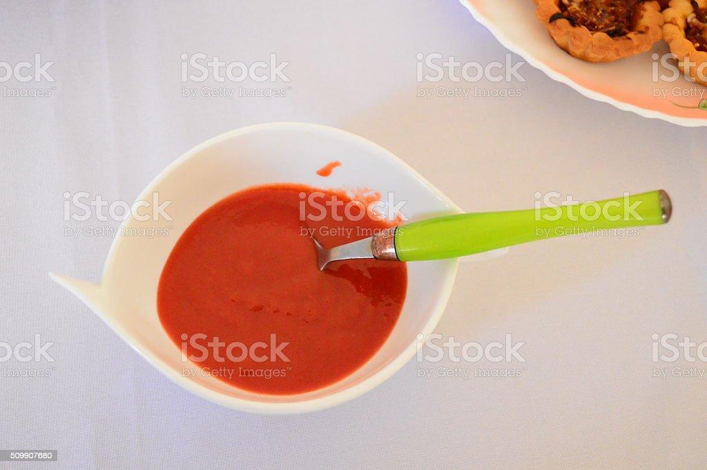Sauce de piment stock photo