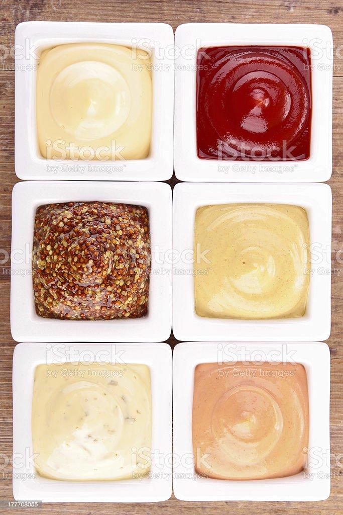 sauce, dips, condiment stock photo