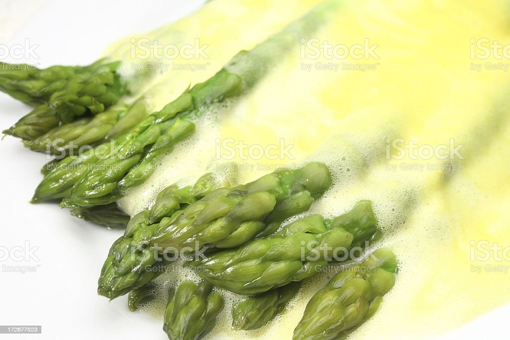 Sauce Hollandaise royalty-free stock photo