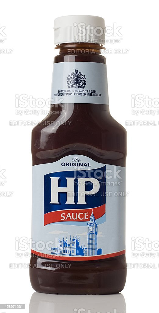 HP sauce stock photo