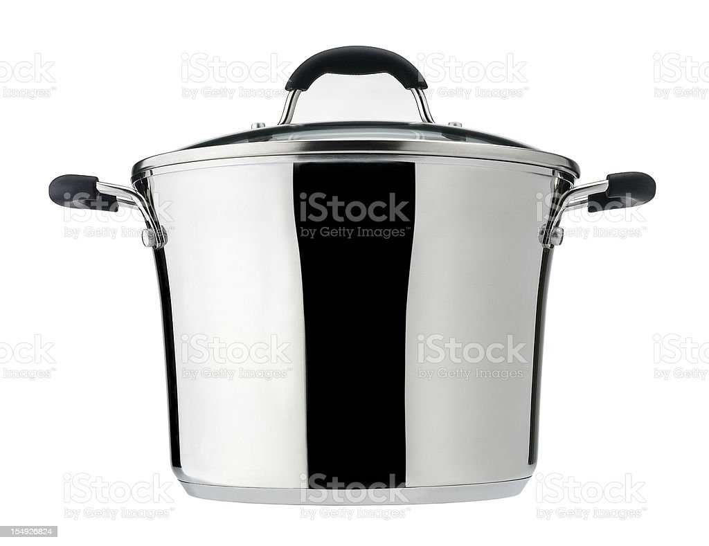 Saucepan royalty-free stock photo