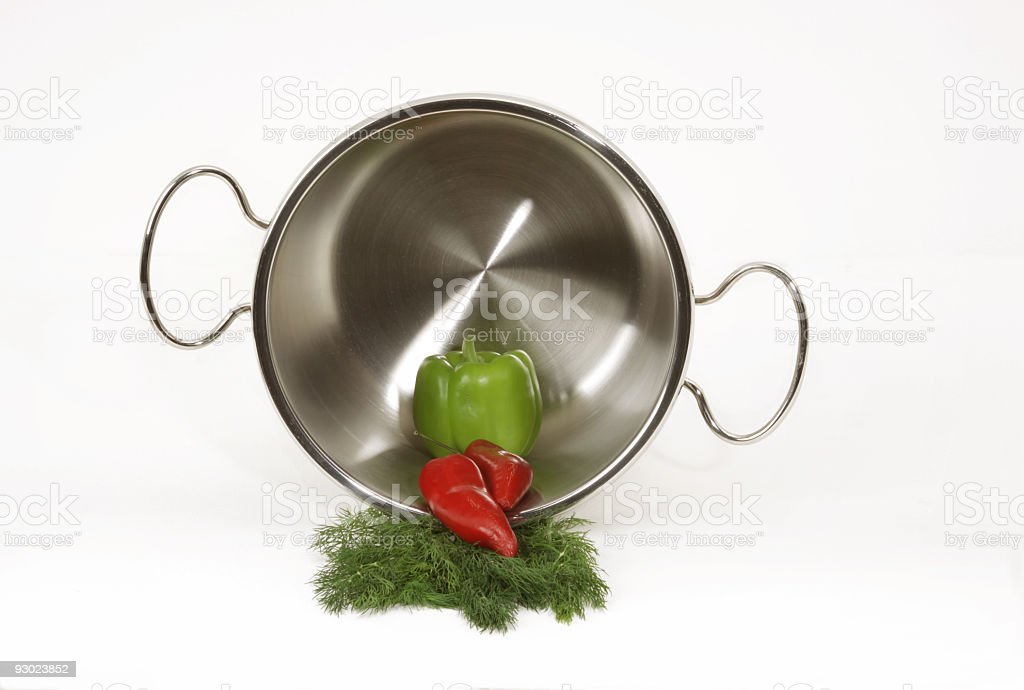Saucepan stock photo