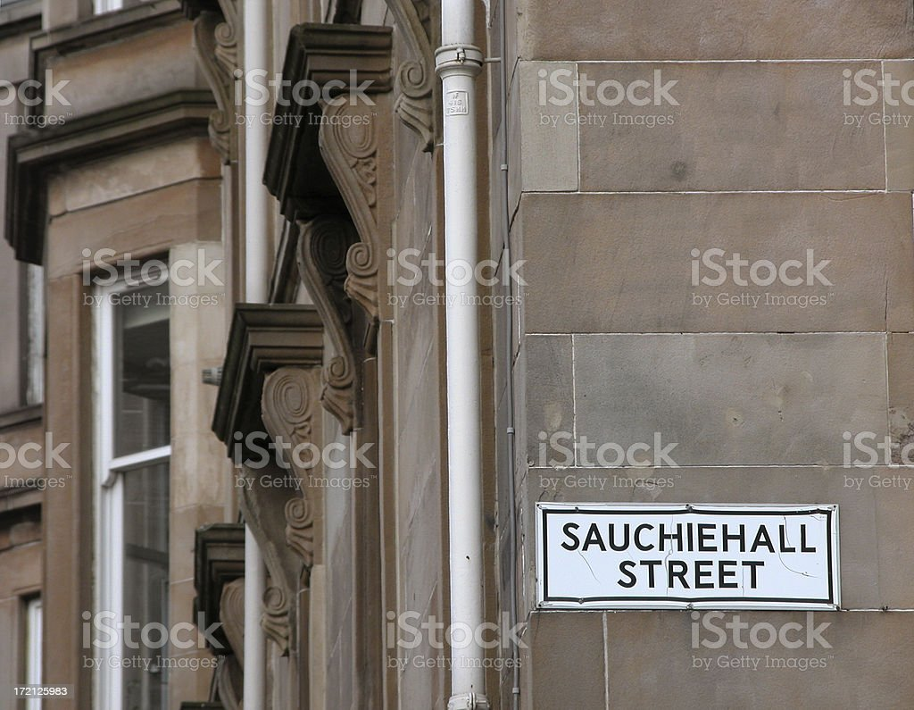 Sauchiehall Street royalty-free stock photo