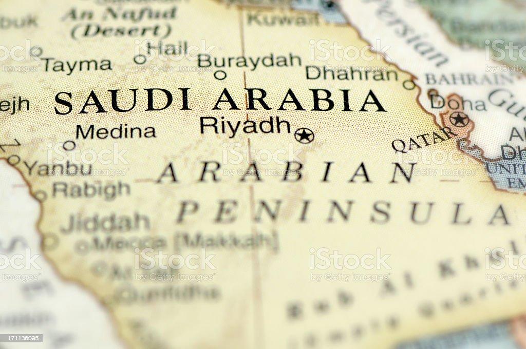 Saudi Arabia stock photo