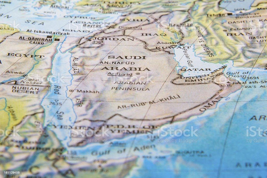 Saudi Arabia royalty-free stock photo